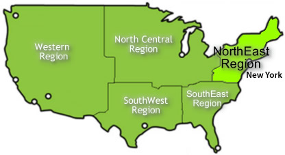 USA Attractions Guide USA North Eastern Region Attractions